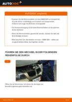 Wie Scheibenbremsen belüftet beim BMW 3 (E90) wechseln - Handbuch online