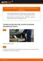 Schritt-für-Schritt-PDF-Tutorial zum Luftfilter-Austausch beim BMW 3 (E90)