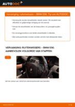 Hoe ruitenwissers vooraan vervangen bij een BMW E90 – Leidraad voor bij het vervangen