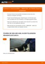 Innenraumfilter selber wechseln: BMW E90 - Austauschanleitung