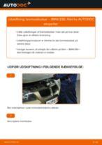 Udskift bremseklodser for - BMW E90   Brugeranvisning