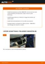 Udskift bremseskiver bag - BMW E90   Brugeranvisning