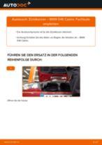 PDF Wechsel Tutorial: Zündkerzensatz BMW 3 Cabrio (E46)