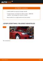Udskift motorolie og filter - BMW E46 cabriolet   Brugeranvisning