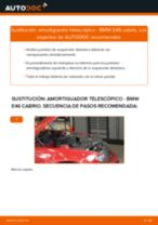 Cambio Suspensión cuerpo del eje BMW 3 SERIES: tutorial en línea