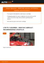 Byta fjäderben fram på BMW E46 cabriolet – utbytesguide