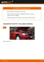 Byta motorolja och filter på BMW E46 cabriolet – utbytesguide