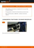 Slik bytter du bremseklosser bak på en BMW E90 – veiledning