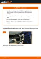 Slik bytter du bremseskiver fremme på en BMW E90 – veiledning