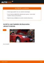 Kuinka vaihtaa moottoriöljy ja öljynsuodatin BMW E46 cabriolet-autoon – vaihto-ohje
