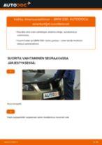 Kuinka vaihtaa ilmansuodattimen BMW E90-autoon – vaihto-ohje