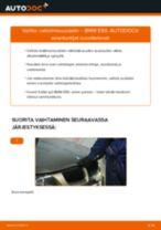 Kuinka vaihtaa raitisilmasuodatin BMW E90-autoon – vaihto-ohje