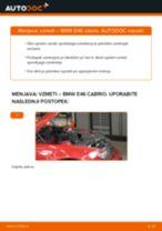 Kako zamenjati avtodel vzmeti spredaj na avtu BMW E46 cabrio – vodnik menjave