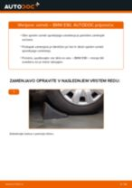 Kako zamenjati avtodel vzmeti spredaj na avtu BMW E90 – vodnik menjave