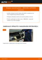 Kako zamenjati avtodel zavorne ploščice zadaj na avtu BMW E90 – vodnik menjave