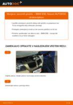 Kako zamenjati avtodel zavorne ploščice spredaj na avtu BMW E90 – vodnik menjave
