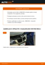 Kako zamenjati avtodel zavorni diski zadaj na avtu BMW E90 – vodnik menjave