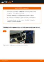 Kako zamenjati avtodel zavorni diski spredaj na avtu BMW E90 – vodnik menjave