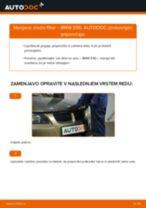 Kako zamenjati avtodel zračni filter na avtu BMW E90 – vodnik menjave