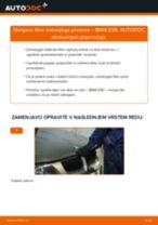 Kako zamenjati avtodel filter notranjega prostora na avtu BMW E90 – vodnik menjave