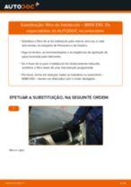 Mudar Filtro do Habitáculo BMW 3 (E90): guia pdf