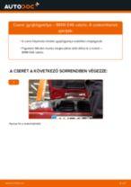 Gyújtógyertya-csere BMW E46 cabrio gépkocsin – Útmutató