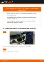 Elülső fékbetétek-csere BMW E90 gépkocsin – Útmutató