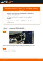 Kā nomainīt: priekšas bremžu klučus BMW E90 - nomaiņas ceļvedis