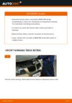 Kā nomainīt: aizmugures bremžu diskus BMW E90 - nomaiņas ceļvedis