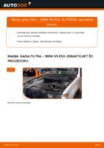 Mainīties BMW Gaisa filtrs - kā novērst problēmas