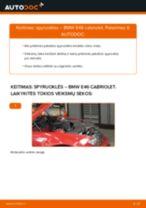 AUDI Q7 priekyje dešinė Stabdžių žarnelės pakeisti: žinynai pdf