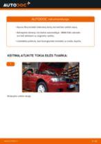 Kaip pakeisti BMW E46 cabriolet variklio alyvos ir alyvos filtra - keitimo instrukcija