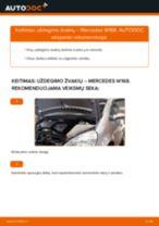 Kaip pakeisti Mercedes W168 uždegimo žvakių - keitimo instrukcija