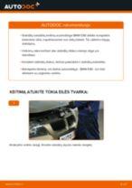 Pasidaryk pats vadovas kaip pakeisti Priedų komplektas, diskinių stabdžių trinkelės FORD S-MAX 2020