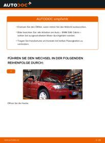 Wie der Wechsel durchführt wird: Ölfilter 330Ci 3.0 BMW e46 Cabrio tauschen