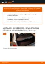 Installation von Stoßdämpfer Satz BMW 3 Touring (E46) - Schritt für Schritt Handbuch