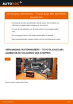 Ruitenwisser veranderen: pdf handleidingen voor TOYOTA AYGO