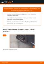 Comment changer : ressort de suspension arrière sur Toyota Aygo AB1 - Guide de remplacement