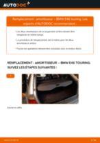 PDF manuel de remplacement: Amortisseur BMW 3 Touring (E46) arrière + avant