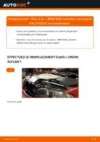 Manuel en ligne pour changer vous-même de Support, suspension du stabilisateur sur Toyota Yaris II