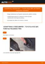 Udskift støddæmper bag - Toyota Aygo AB1   Brugeranvisning