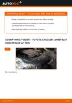 Udskift fjeder for - Toyota Aygo AB1   Brugeranvisning