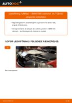 Udskift luftfilter - BMW E46 cabrio   Brugeranvisning