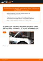 Instalación Kit amortiguadores BMW 3 Touring (E46) - tutorial paso a paso