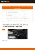 Montaggio Filtro aria abitacolo BMW 3 Touring (E46) - video gratuito