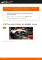 Come cambiare è regolare Filtro aria motore BMW 3 SERIES: pdf tutorial