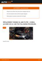 ACKOJA A26-0500 for ACCORD VIII (CU) | PDF replacing instruction