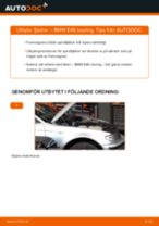 Byta fjädrar fram på BMW E46 touring – utbytesguide