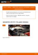 Byta luftfilter på BMW E46 cabrio – utbytesguide