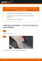 Mekanikerens anbefalinger om bytte av TOYOTA Toyota Aygo ab1 1.4 HDi Støtdemper